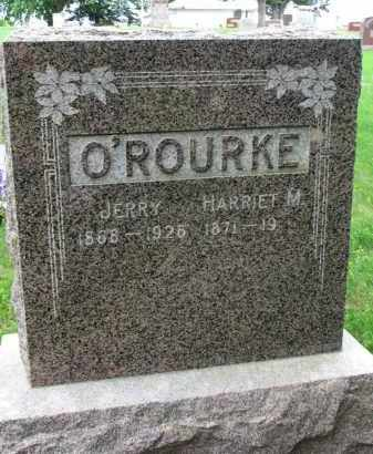 O'ROURKE, HARRIET M. - Burt County, Nebraska | HARRIET M. O'ROURKE - Nebraska Gravestone Photos