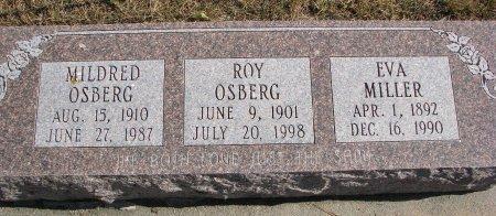 MILLER, EVA - Burt County, Nebraska   EVA MILLER - Nebraska Gravestone Photos