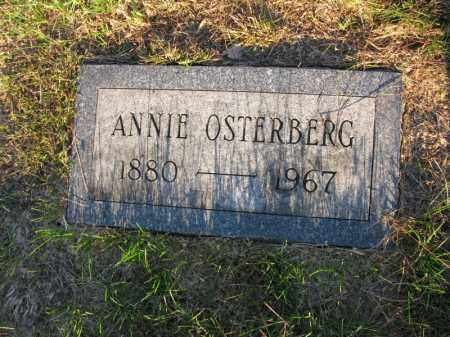 OSTERBERG, ANNIE - Burt County, Nebraska | ANNIE OSTERBERG - Nebraska Gravestone Photos