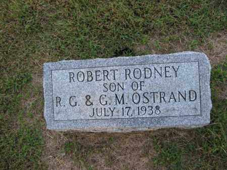 OSTRAND, ROBERT RODNEY - Burt County, Nebraska | ROBERT RODNEY OSTRAND - Nebraska Gravestone Photos