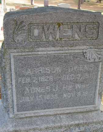 OWENS, HARRISON - Burt County, Nebraska   HARRISON OWENS - Nebraska Gravestone Photos