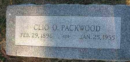 PACKWOOD, CLIO O. - Burt County, Nebraska | CLIO O. PACKWOOD - Nebraska Gravestone Photos