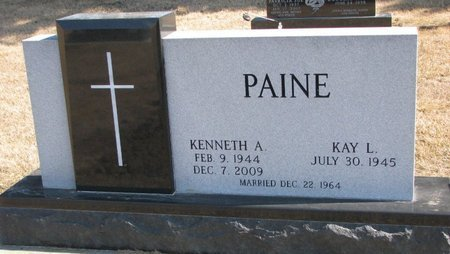 PAINE, KAY L. - Burt County, Nebraska | KAY L. PAINE - Nebraska Gravestone Photos