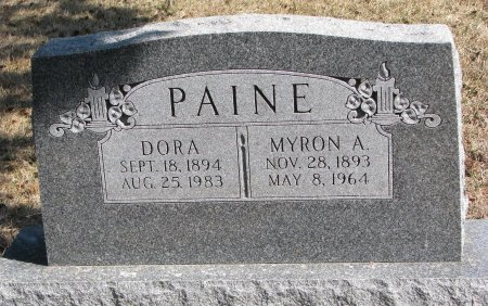 PAINE, DORA - Burt County, Nebraska | DORA PAINE - Nebraska Gravestone Photos