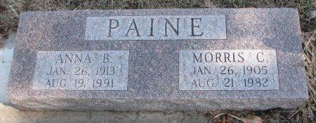 PAINE, ANNA BERNICE - Burt County, Nebraska   ANNA BERNICE PAINE - Nebraska Gravestone Photos