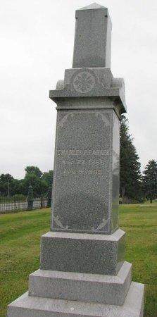PARKER, CHARLES F. - Burt County, Nebraska   CHARLES F. PARKER - Nebraska Gravestone Photos