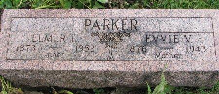 PARKER, EVVIE V. - Burt County, Nebraska   EVVIE V. PARKER - Nebraska Gravestone Photos