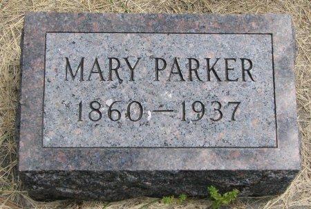 PARKER, MARY - Burt County, Nebraska | MARY PARKER - Nebraska Gravestone Photos