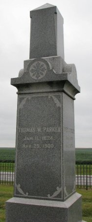 PARKER, THOMAS W. - Burt County, Nebraska | THOMAS W. PARKER - Nebraska Gravestone Photos
