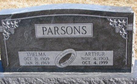 PARSONS, THELMA - Burt County, Nebraska | THELMA PARSONS - Nebraska Gravestone Photos