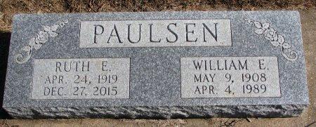 PAULSEN, RUTH E. - Burt County, Nebraska   RUTH E. PAULSEN - Nebraska Gravestone Photos