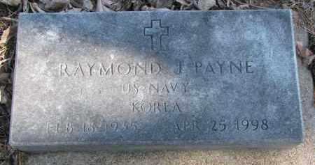 PAYNE, RAYMOND J. - Burt County, Nebraska | RAYMOND J. PAYNE - Nebraska Gravestone Photos
