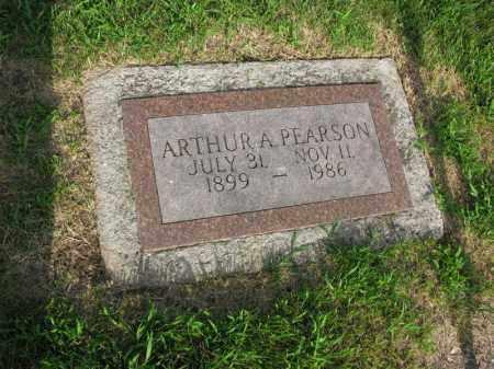 PEARSON, ARTHUR A. - Burt County, Nebraska | ARTHUR A. PEARSON - Nebraska Gravestone Photos