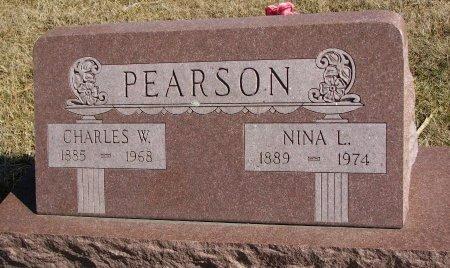 PEARSON, CHARLES W. - Burt County, Nebraska   CHARLES W. PEARSON - Nebraska Gravestone Photos