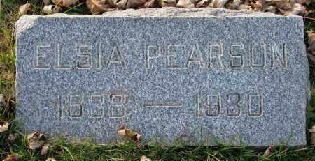 PEARSON, ELSIA - Burt County, Nebraska | ELSIA PEARSON - Nebraska Gravestone Photos
