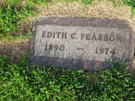 PEARSON, EDITH C. - Burt County, Nebraska   EDITH C. PEARSON - Nebraska Gravestone Photos