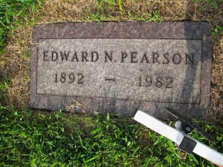 PEARSON, EDWARD N. - Burt County, Nebraska | EDWARD N. PEARSON - Nebraska Gravestone Photos