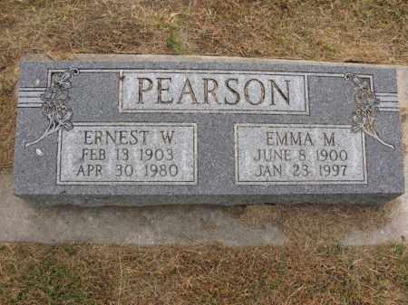 PEARSON, ERNEST W. - Burt County, Nebraska | ERNEST W. PEARSON - Nebraska Gravestone Photos