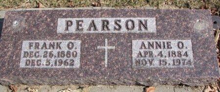 PEARSON, FRANK O. - Burt County, Nebraska | FRANK O. PEARSON - Nebraska Gravestone Photos