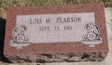 PEARSON, LOIS M. - Burt County, Nebraska   LOIS M. PEARSON - Nebraska Gravestone Photos
