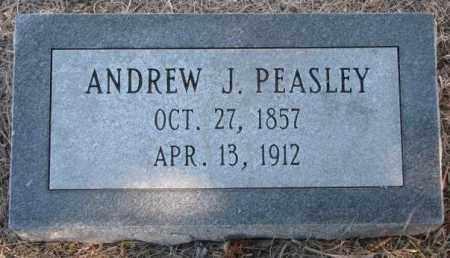 PEASLEY, ANDREW J. - Burt County, Nebraska   ANDREW J. PEASLEY - Nebraska Gravestone Photos