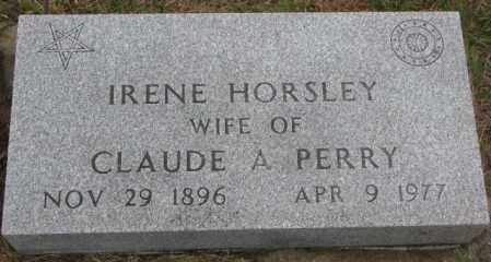PERRY, IRENE - Burt County, Nebraska | IRENE PERRY - Nebraska Gravestone Photos