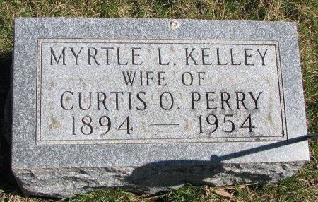 PERRY, MYRTLE L. - Burt County, Nebraska | MYRTLE L. PERRY - Nebraska Gravestone Photos
