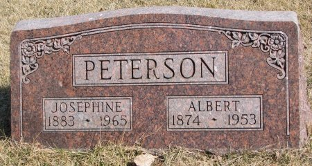 PETERSON, ALBERT - Burt County, Nebraska | ALBERT PETERSON - Nebraska Gravestone Photos