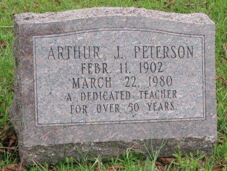 PETERSON, ARTHUR J. - Burt County, Nebraska | ARTHUR J. PETERSON - Nebraska Gravestone Photos