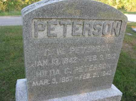 PETERSON, CHARLES W. - Burt County, Nebraska | CHARLES W. PETERSON - Nebraska Gravestone Photos
