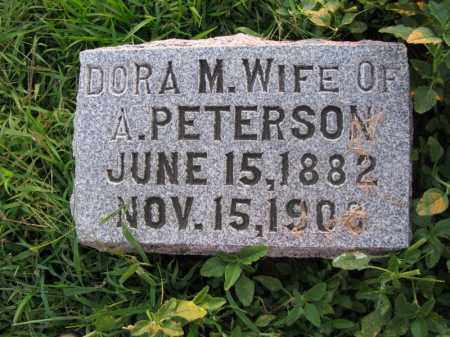 PETERSON, DORA M. - Burt County, Nebraska | DORA M. PETERSON - Nebraska Gravestone Photos