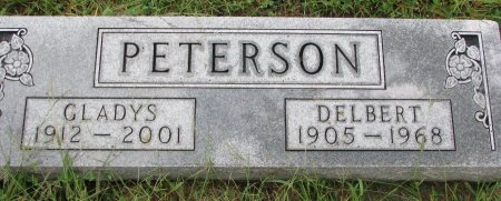 PETERSON, GLADYS - Burt County, Nebraska | GLADYS PETERSON - Nebraska Gravestone Photos
