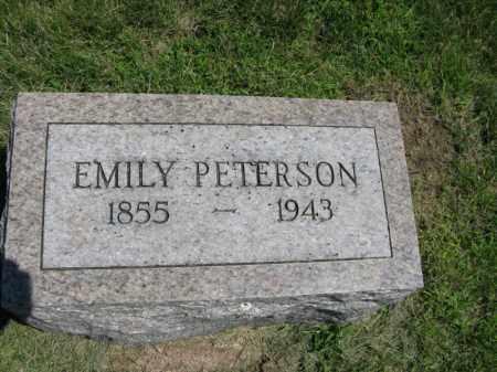 PETERSON, EMILY - Burt County, Nebraska | EMILY PETERSON - Nebraska Gravestone Photos