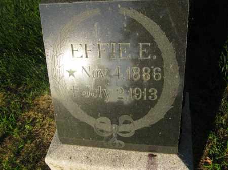 PETERSON, EFFIE E. - Burt County, Nebraska   EFFIE E. PETERSON - Nebraska Gravestone Photos