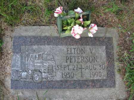 PETERSON, ELTON V. - Burt County, Nebraska | ELTON V. PETERSON - Nebraska Gravestone Photos