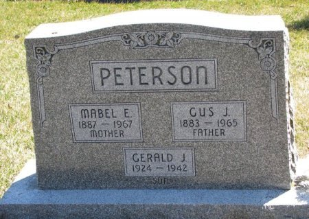 PETERSON, MABEL E. - Burt County, Nebraska | MABEL E. PETERSON - Nebraska Gravestone Photos