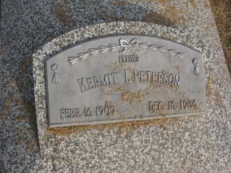 PETERSON, KERMIT I. - Burt County, Nebraska | KERMIT I. PETERSON - Nebraska Gravestone Photos