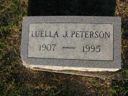 PETERSON, LUELLA J. - Burt County, Nebraska | LUELLA J. PETERSON - Nebraska Gravestone Photos