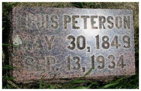 PETERSON, LOUIS - Burt County, Nebraska | LOUIS PETERSON - Nebraska Gravestone Photos