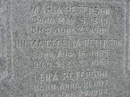 PETERSON, HILMA CECELIA - Burt County, Nebraska | HILMA CECELIA PETERSON - Nebraska Gravestone Photos