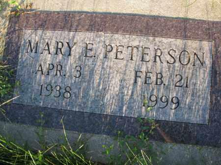 PETERSON, MARY E. - Burt County, Nebraska   MARY E. PETERSON - Nebraska Gravestone Photos