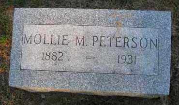 PETERSON, MOLLIE M. - Burt County, Nebraska | MOLLIE M. PETERSON - Nebraska Gravestone Photos
