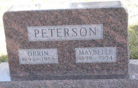 PETERSON, ORRIN - Burt County, Nebraska   ORRIN PETERSON - Nebraska Gravestone Photos