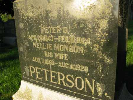 PETERSON, PETER G. - Burt County, Nebraska | PETER G. PETERSON - Nebraska Gravestone Photos
