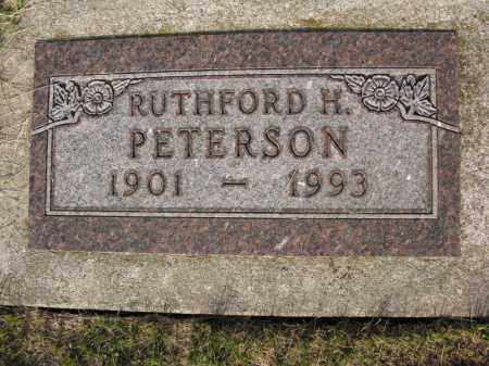 PETERSON, RUTHFORD H. - Burt County, Nebraska | RUTHFORD H. PETERSON - Nebraska Gravestone Photos