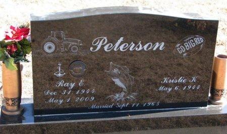 PETERSON, RAY EARL - Burt County, Nebraska | RAY EARL PETERSON - Nebraska Gravestone Photos
