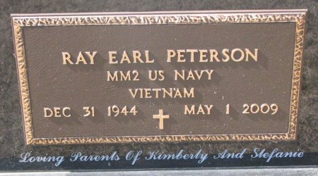 PETERSON, RAY EARL (MILITARY) - Burt County, Nebraska | RAY EARL (MILITARY) PETERSON - Nebraska Gravestone Photos