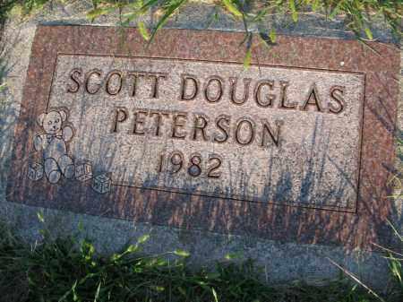 PETERSON, SCOTT DOUGLAS - Burt County, Nebraska | SCOTT DOUGLAS PETERSON - Nebraska Gravestone Photos