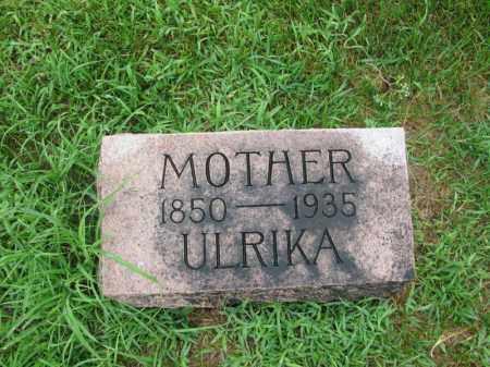 PETERSON, ULRIKA - Burt County, Nebraska | ULRIKA PETERSON - Nebraska Gravestone Photos
