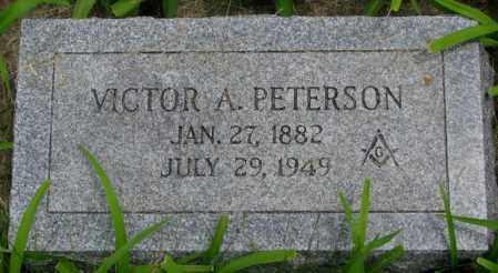 PETERSON, VICTOR A. - Burt County, Nebraska   VICTOR A. PETERSON - Nebraska Gravestone Photos